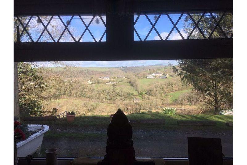 View Through Lounge Window