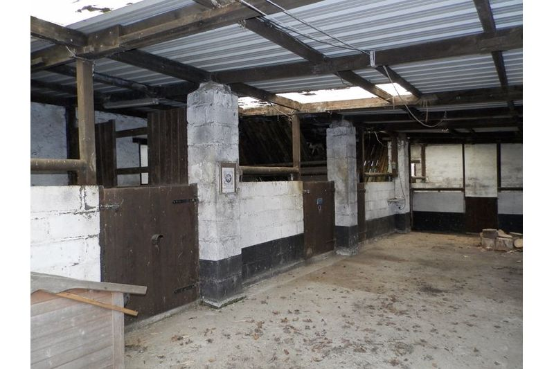 Inside View of Stables