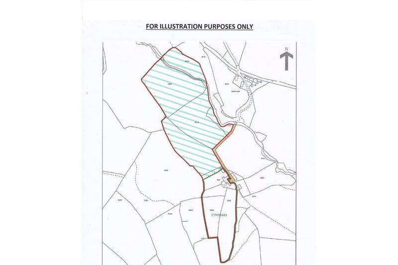 Land Plan - Area Hatched in Green