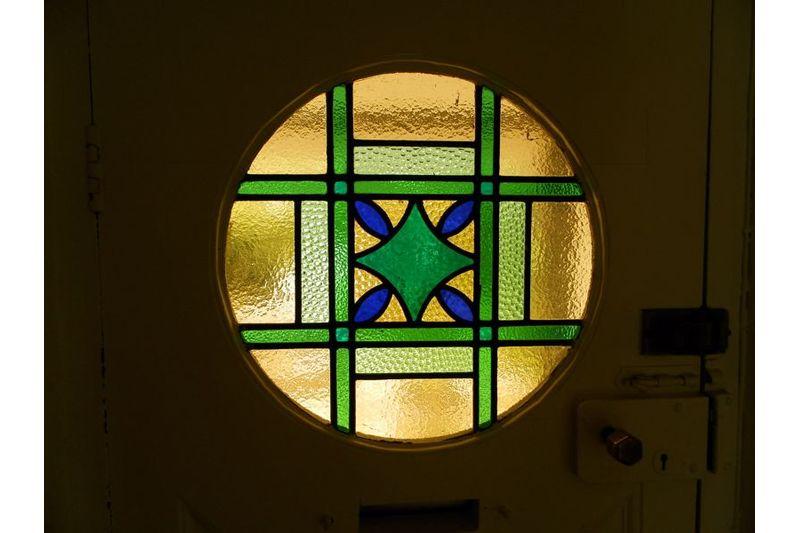 Feature Door Glass