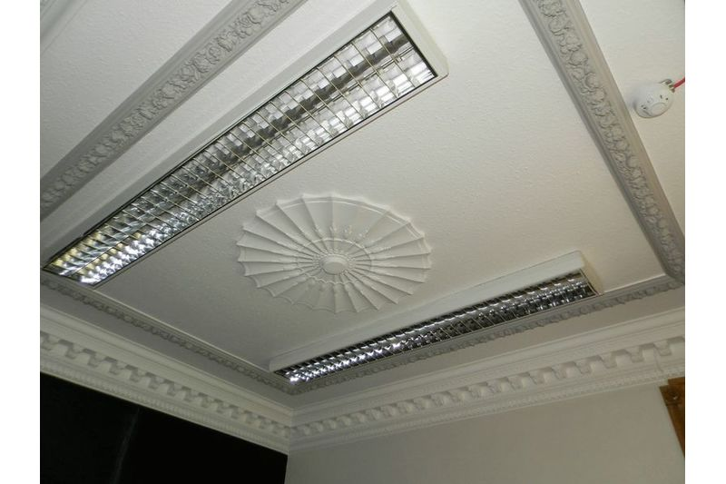 Ceiling in Room 2