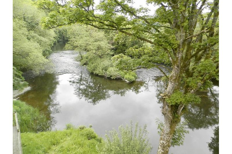 View from Balcony Over Teifi