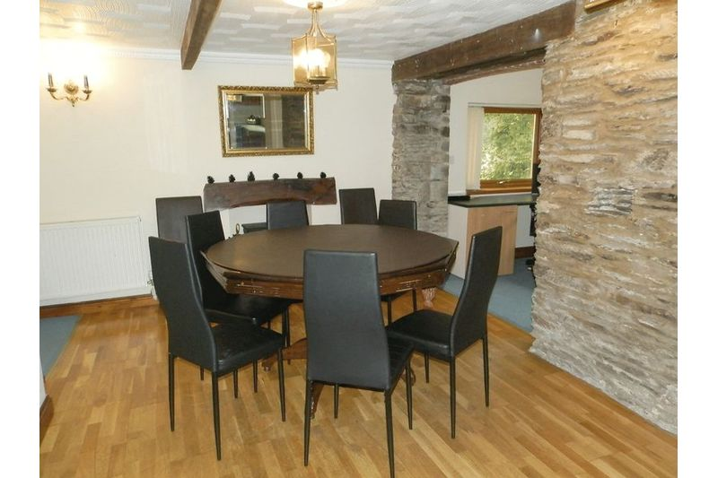 Dining Area Before Flood