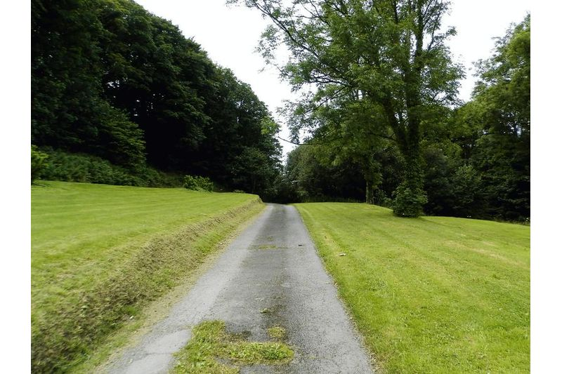 Good Driveway to House