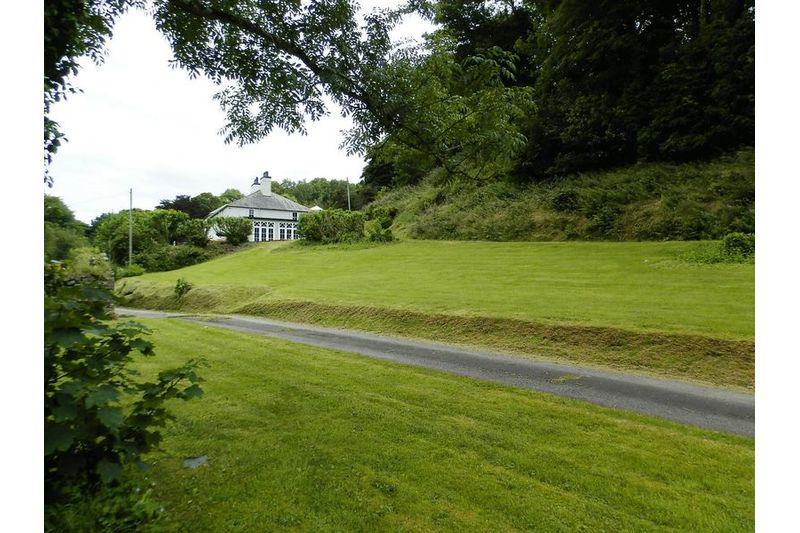 Driveway To House