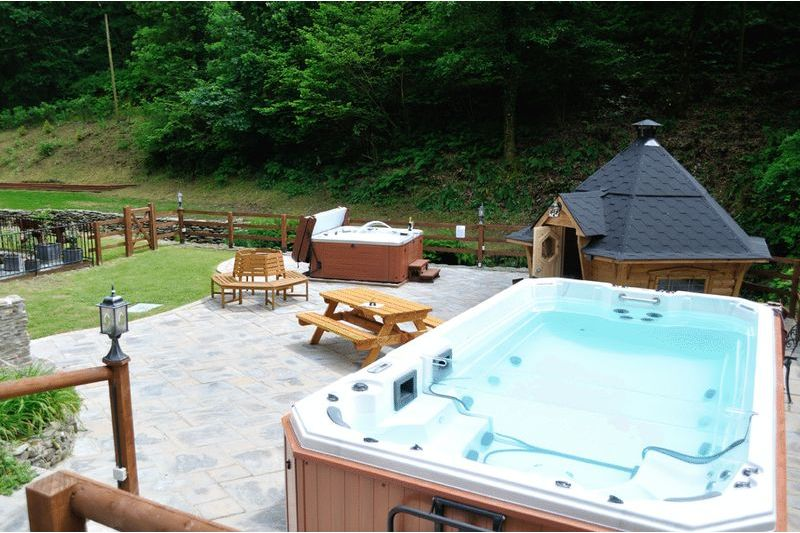 Hot Tub and Swim Spa by Separate Negotiation