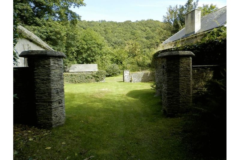 Entrance to Coach House & Stables