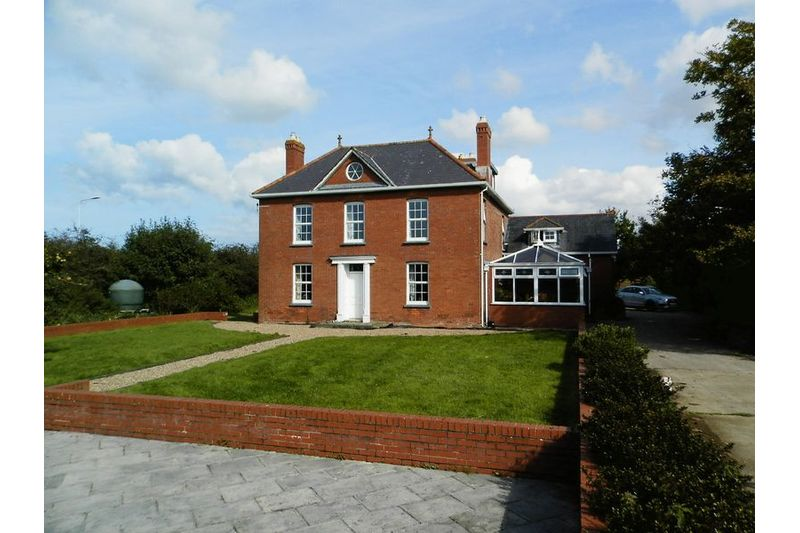 Rear View Of House