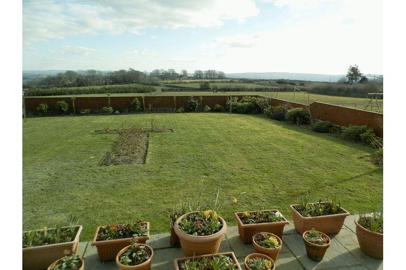Rear Gardens & View in Winter
