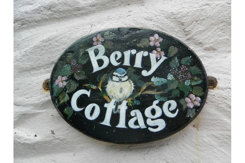 Berry Name Plate