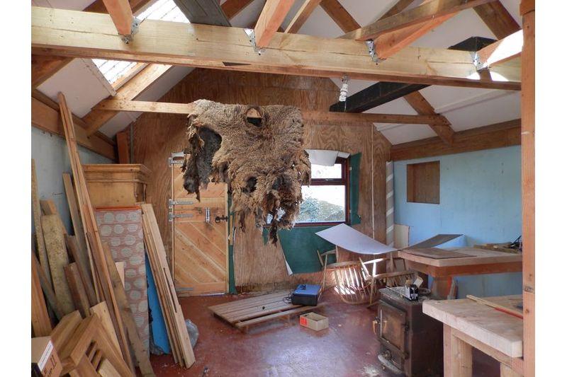 Inside Timber Outbuilding