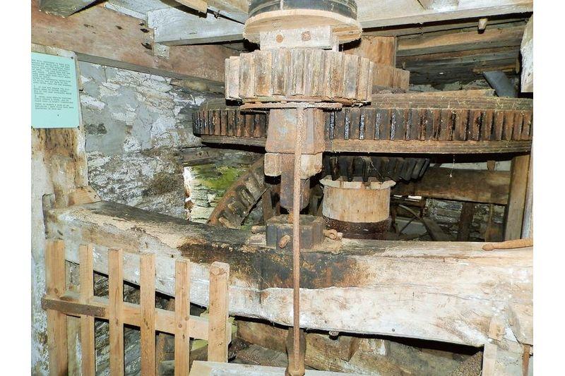 Mill Workings In Situ