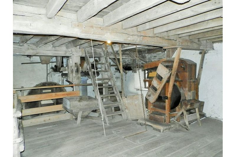 Inside View Of Mill