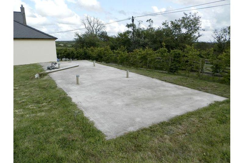 Concrete Slab For Caravan