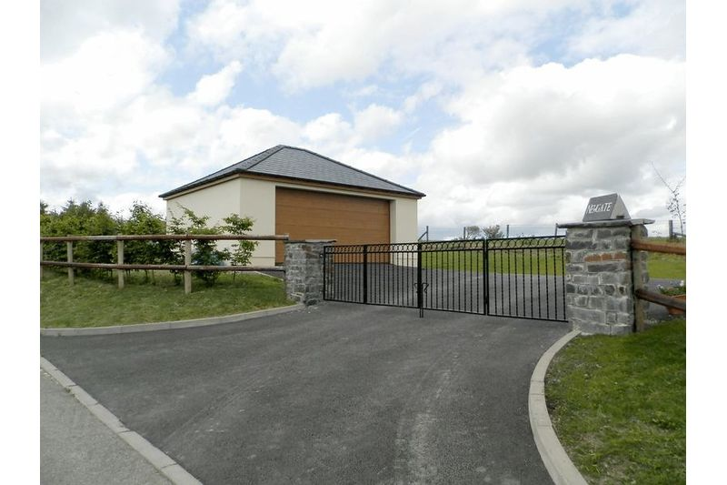 Entrance And Garage