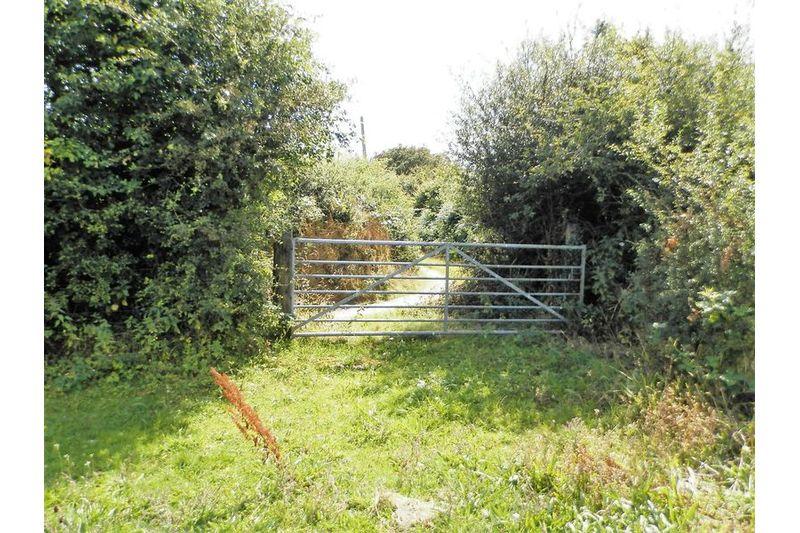 Access Gate To Bridleway