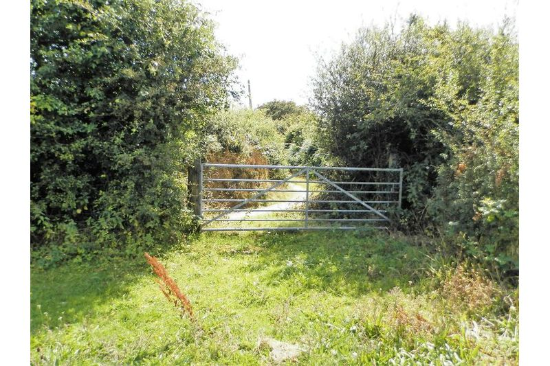 Access Gate To Bridleway