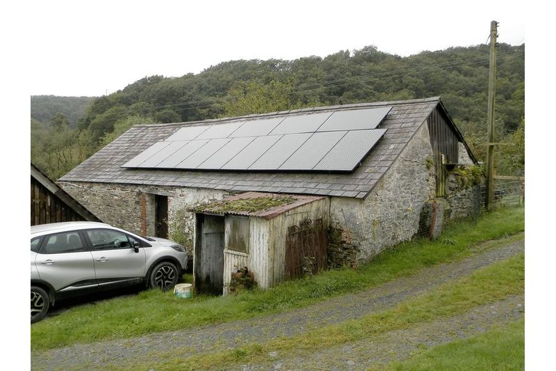 Outbuilding 1 With PV Panels