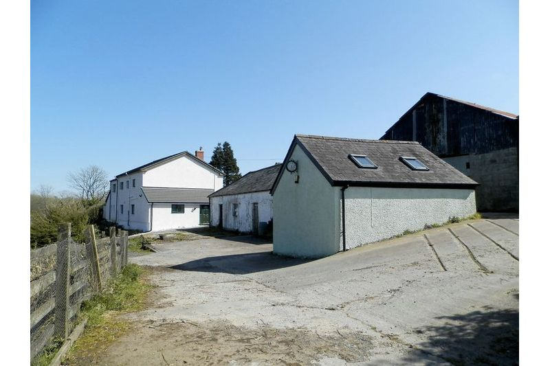 House And Outbuildings