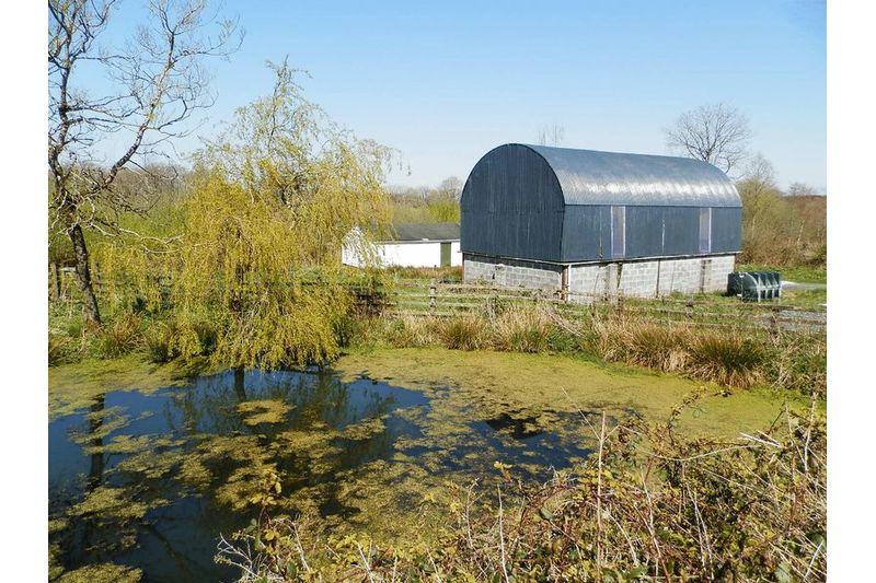 Pond And Dutch Barn