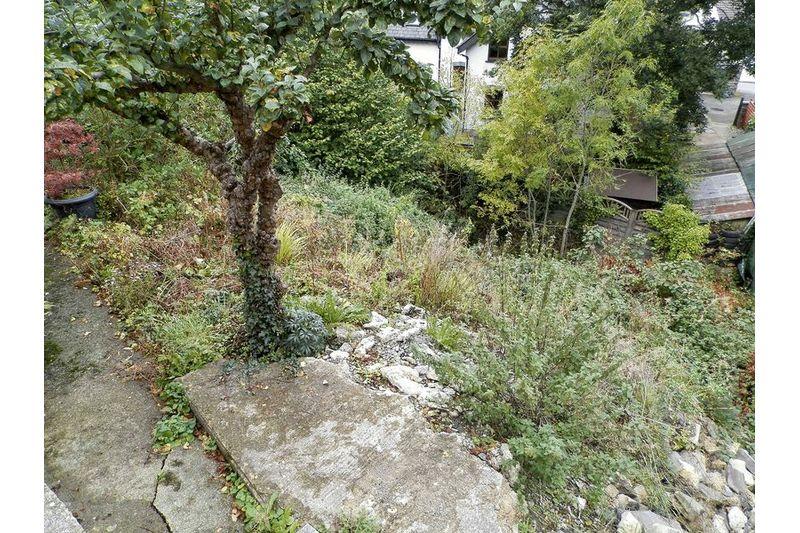 Sloping Rear Gardens
