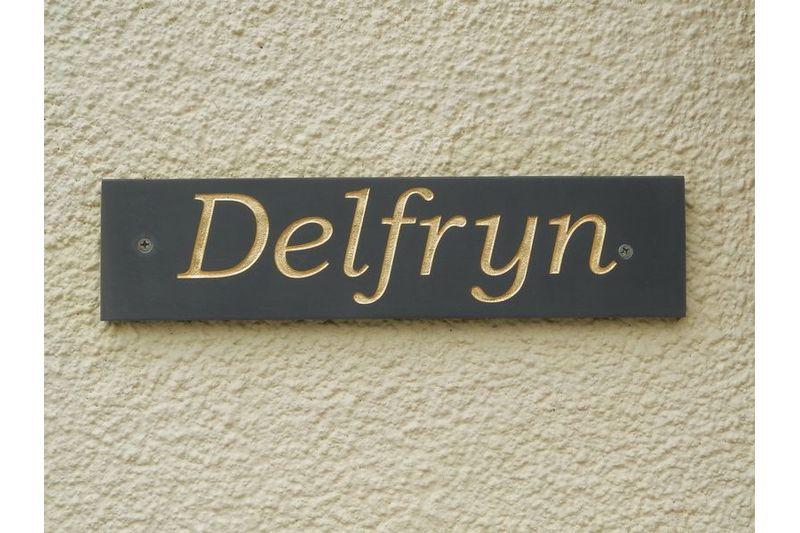 Delfryn Plaque