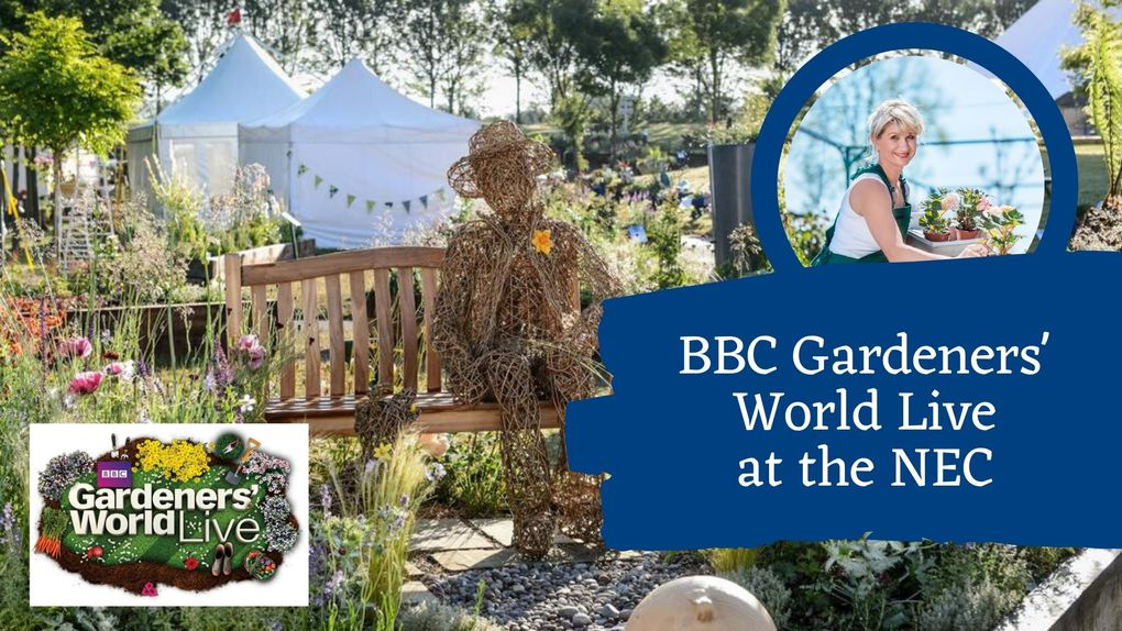 BBC Gardeners World Live at the NEC